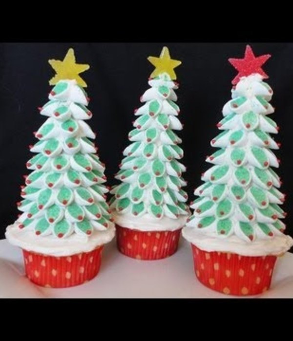 Christmas Tree Marshmallow Topper Tutorial