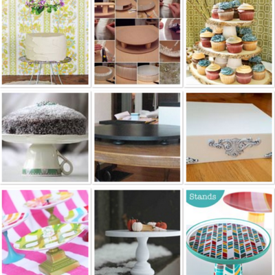 DIY Cupcake Stands on Cake Central
