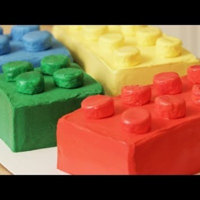 How to Make a Lego Block Cake on Cake Central