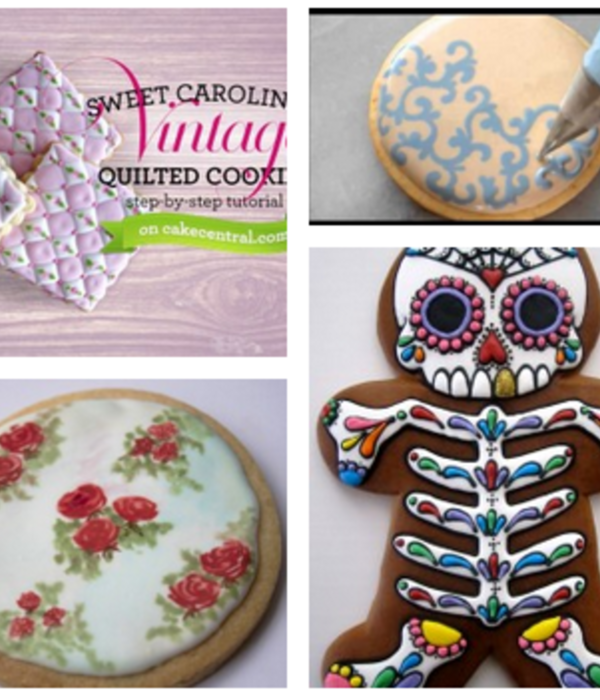 Top 15 Cookie Decorating Tutorials