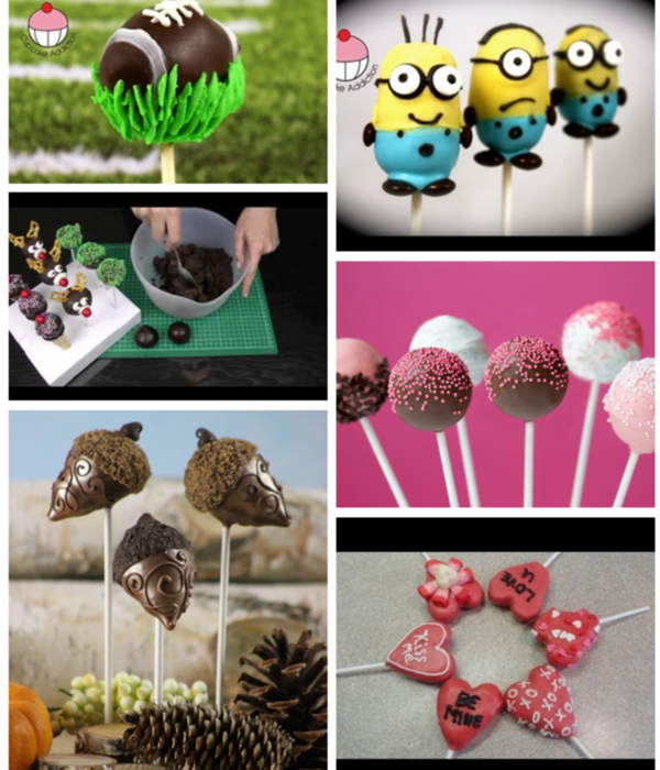 Top Cake Pop Tutorials