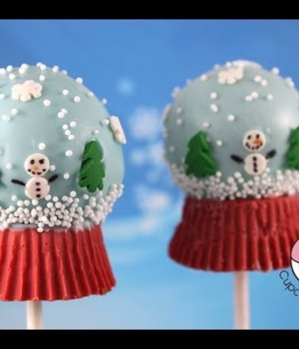How-to Make Snow Globe Cakepops