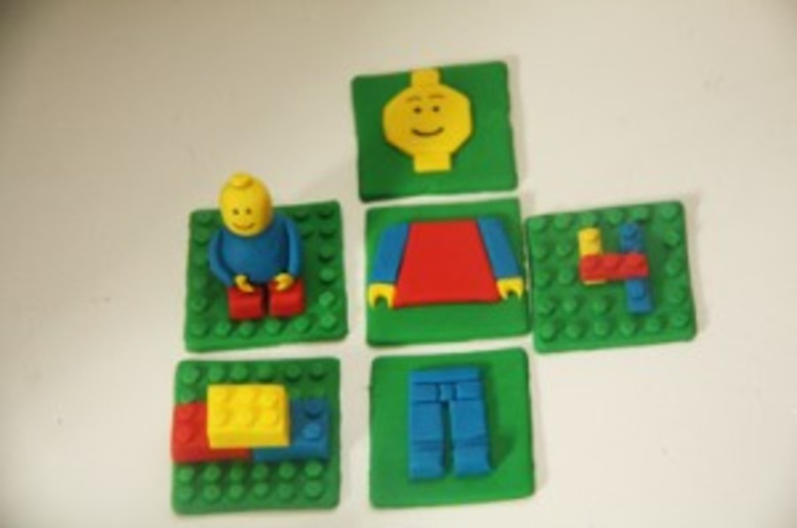 How To Make Lego Cake Toppers