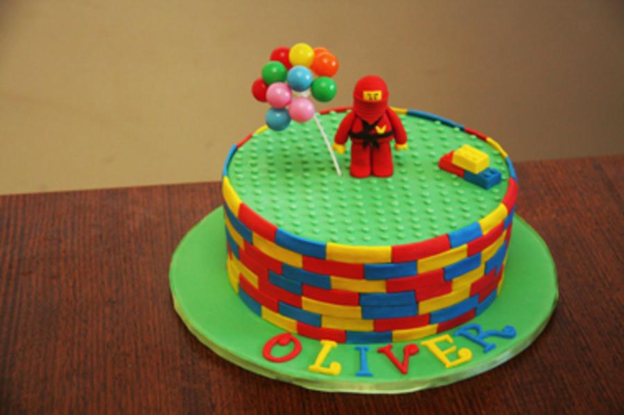 Lego Ninja Cake Tutorial - CakeCentral.com