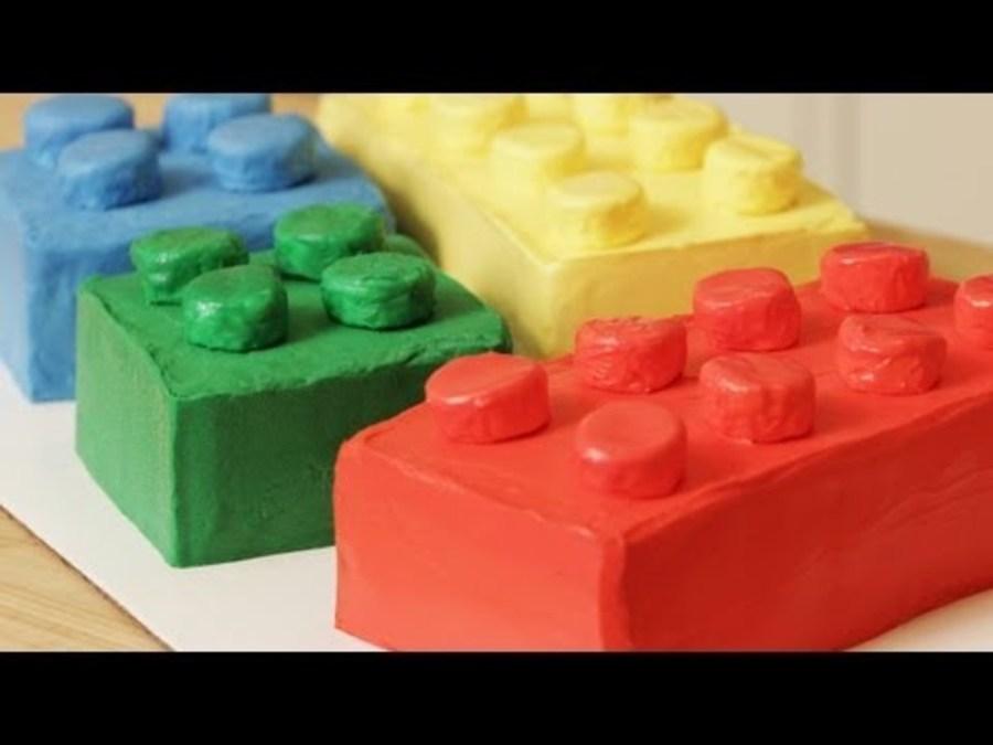 Lego Block Cake Pan
