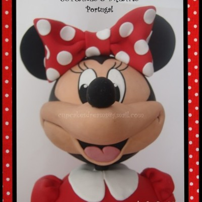 3D Minnie Mouse on Cake Central
