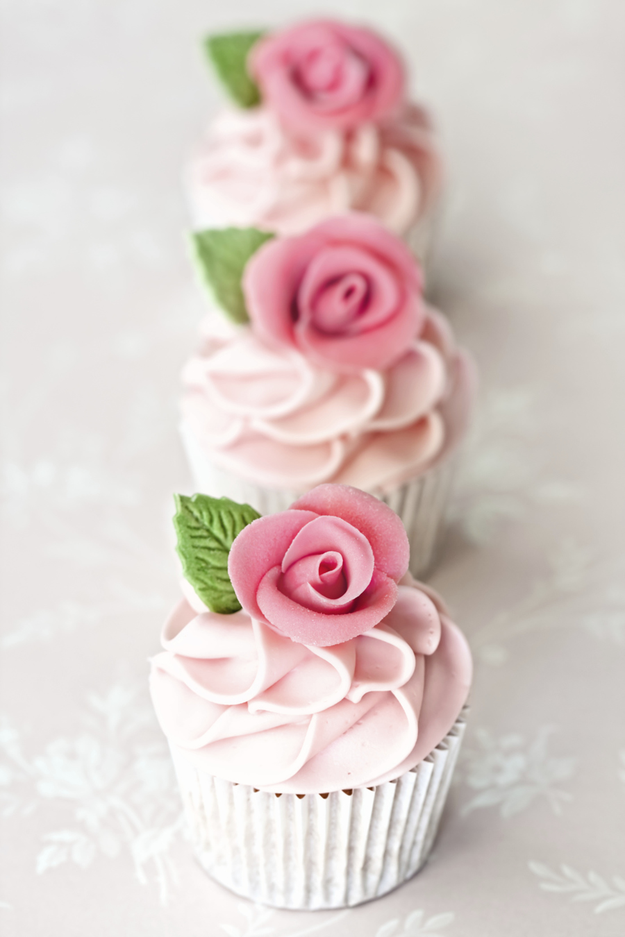 Cake Decorating Central Recipes : Almond Rose Water Cupcakes - CakeCentral.com