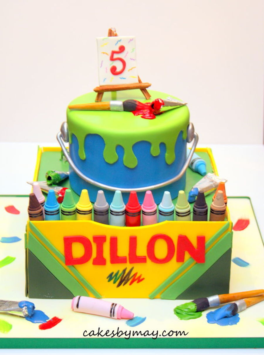 Top Crayon Cakes Cakecentral Com