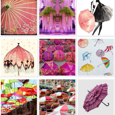Pink Umbrella Inspiration Challenge on Cake Central