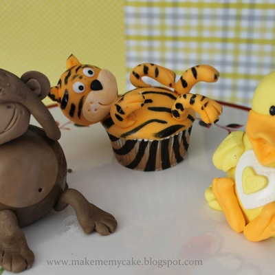 3D Animal Cupcakes on Cake Central