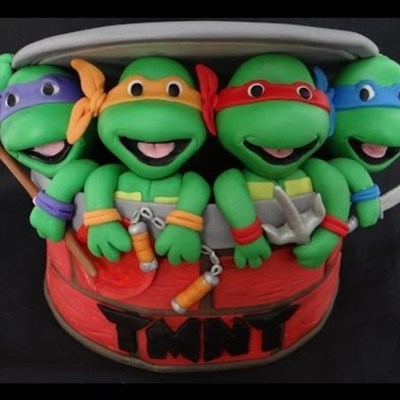 How To Make Fondant Ninja Turtles on Cake Central