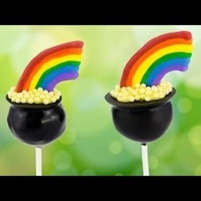 Pot of Gold Cake Pops on Cake Central