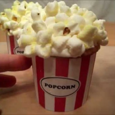 Popcorn Bucket Cupcakes on Cake Central