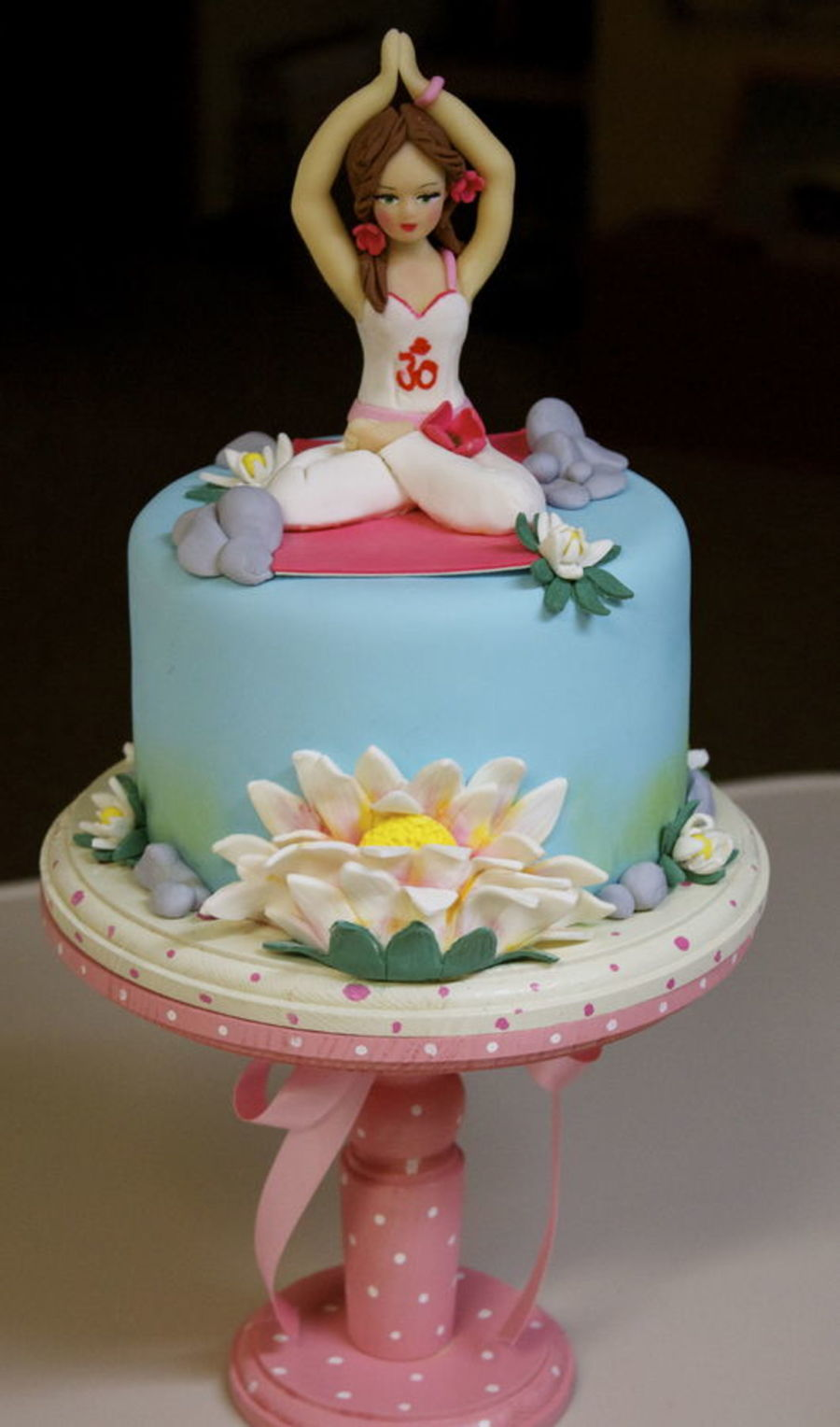 top yoga inspired cakes cakecentralcom