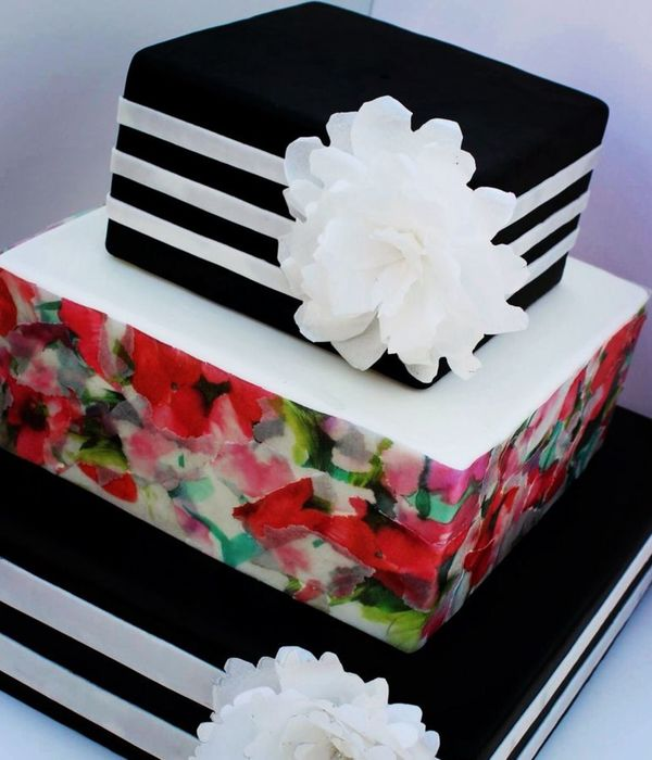 How to Decoupage a Cake