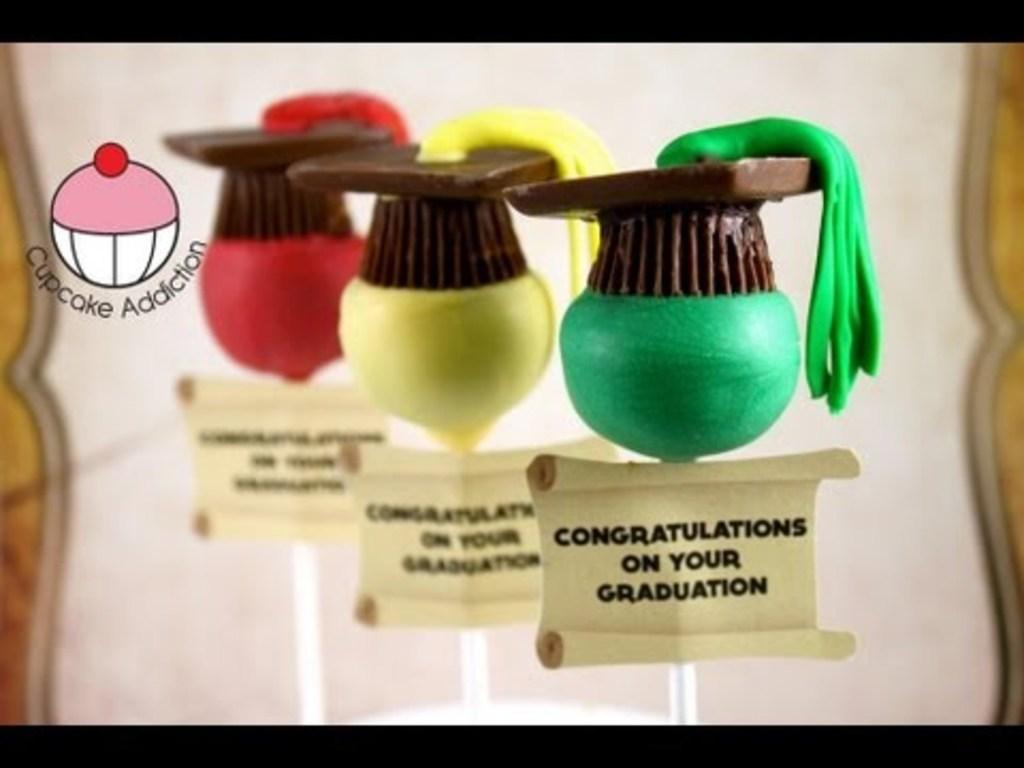 graduation hat cake pops cakecentral com