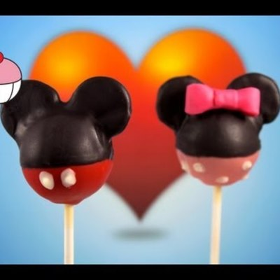 Mickey Mouse Cake Pops on Cake Central