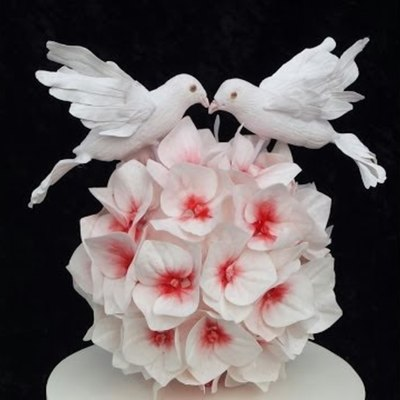 Gumpaste Dove Tutorial on Cake Central