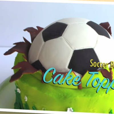 Soccer Ball Cake Topper on Cake Central