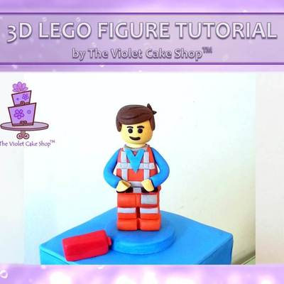 3D Lego Figure Tutorial on Cake Central