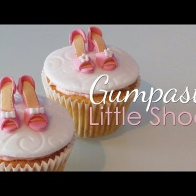 Mini Gumpaste Shoes For Cupcakes on Cake Central