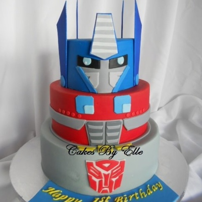 Top Transformers Cakes on Cake Central