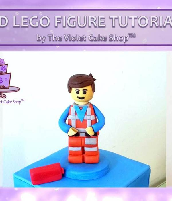 3D Lego Figure Tutorial