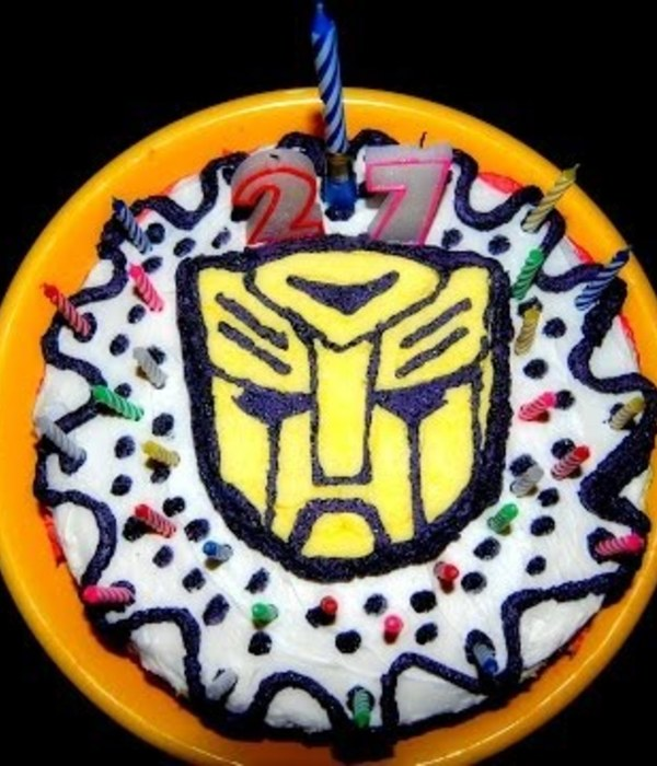 Transformers Buttercream Transfer