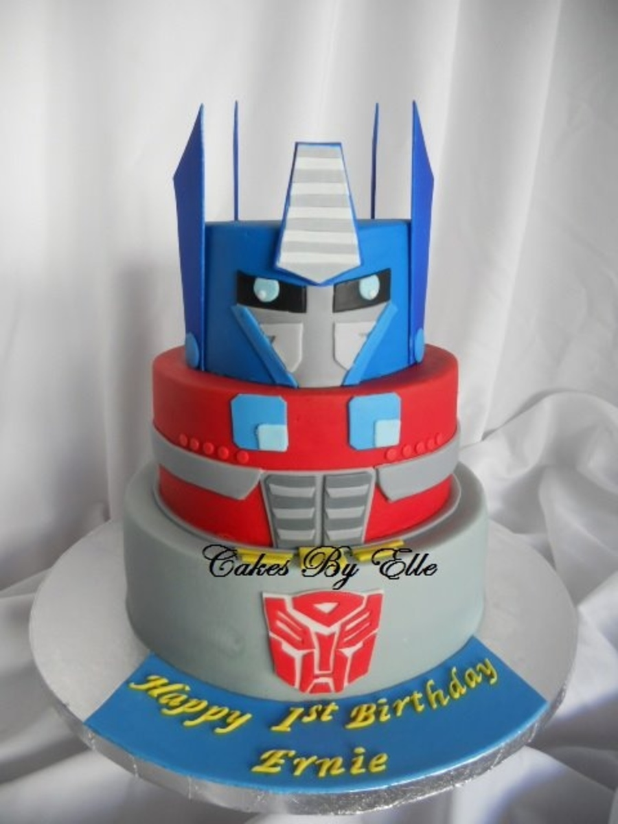 Transformer Cake Ideas Home