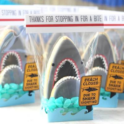 3D Shark Cookies on Cake Central