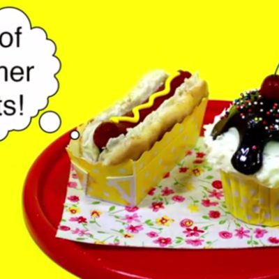 How-To Create Hot Dog and Ice Cream Cupcakes on Cake Central
