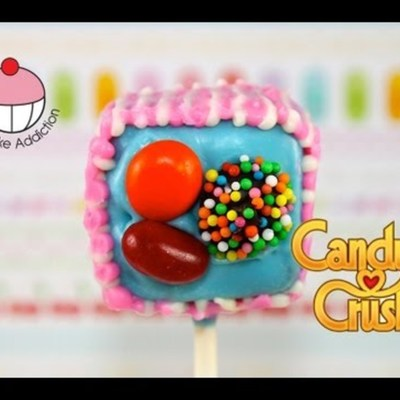 Candy Crush Cake Pops on Cake Central