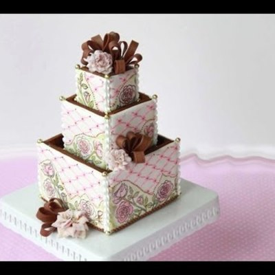 3-D Cookie Boxes on Cake Central