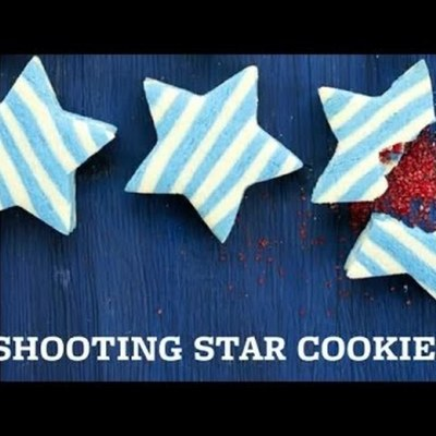Sugar Cookie Stars with a Surprise Center on Cake Central