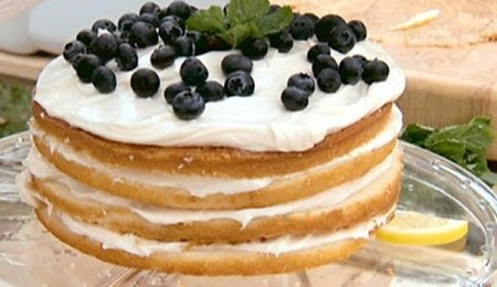 Sandra Lee's Lemon Blueberry Cake