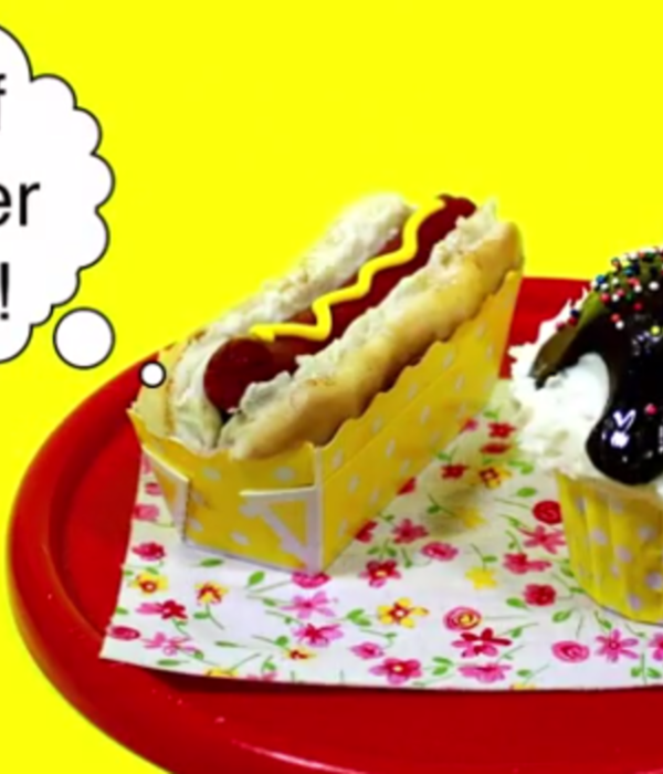 How-To Create Hot Dog and Ice Cream Cupcakes
