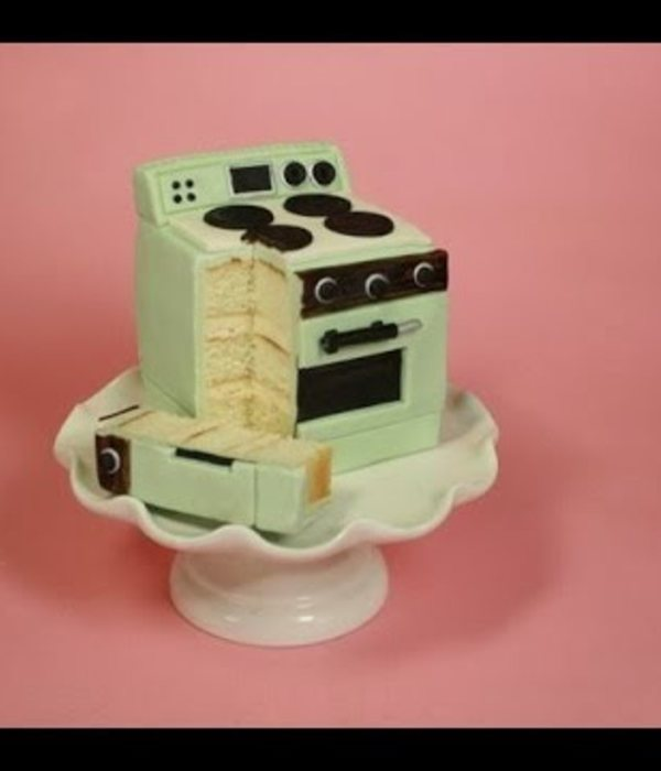 Oven Mini Cake Tutorial