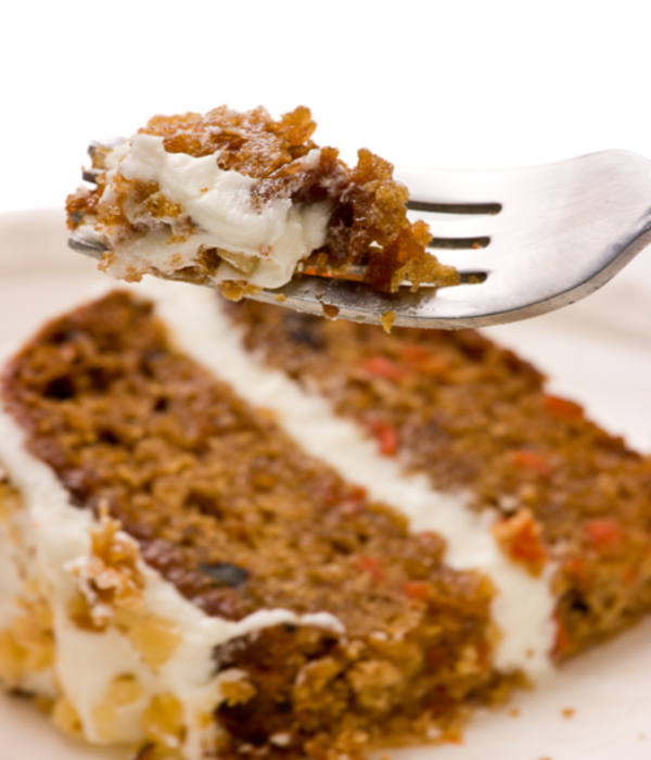 Maple Walnut Carrot Cake with Orange Icing
