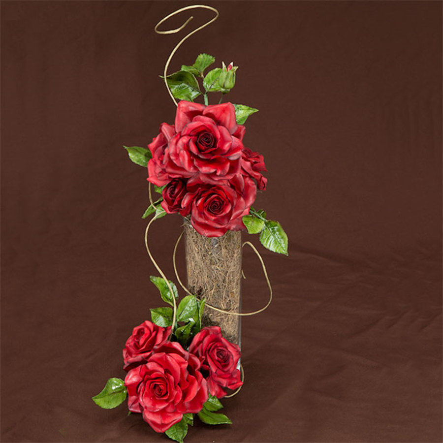 Gumpaste Black Magic Rose Cakecentral Com