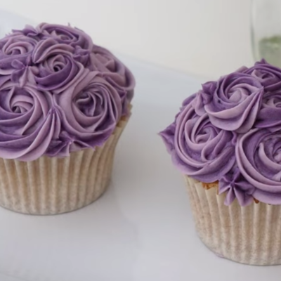 Mini Rose Cupcake Piping Tutorial on Cake Central