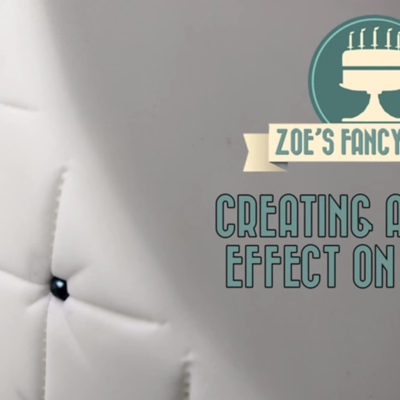 Creating a Quilted Effect on Cake Central