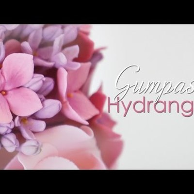 Gumpaste Hydrangea Flower Tutorial on Cake Central