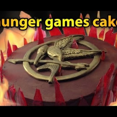 Mockingjay Cake Tutorial on Cake Central