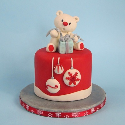 Teddy Bear Cake Topper on Cake Central