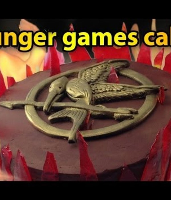 Mockingjay Cake Tutorial