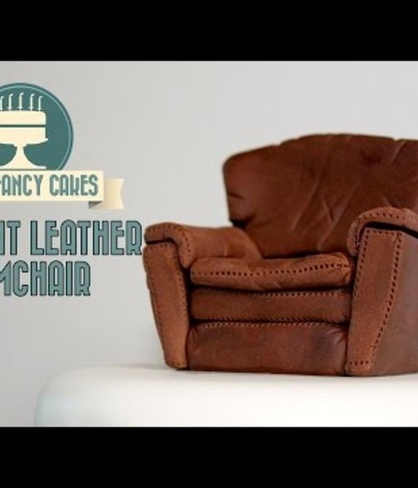 Fondant Arm Chair Tutorial
