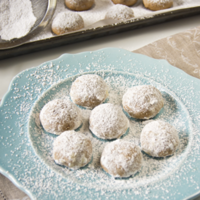 Snowball Cookies on Cake Central