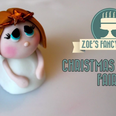 Fondant Angel Tutorial on Cake Central