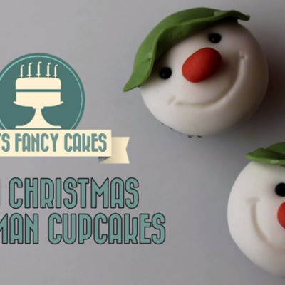 Snowman Mini Cupcakes on Cake Central