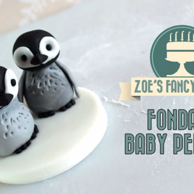 Baby Penguin Cake Topper on Cake Central